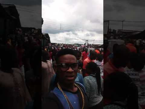 This is something dat happen in porthelarcourt today at Eleme in Onne this Abt Design people Were pe