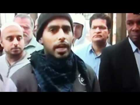 Man swears on live tv sangat tv ch847 b'ham hit&run 9/8/11