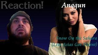 Reaction Anggun Snow On The Sahara Live Asias Got Talent