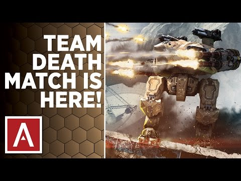 War Robots Test Server [2.9] - TEAM DEATHMATCH (TDM) Gameplay Review