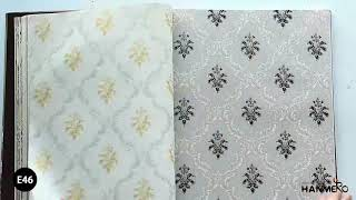 HANMERO Damask European Classic Style PVC 0.53*10M Wallpaper Room Decor Best Selling