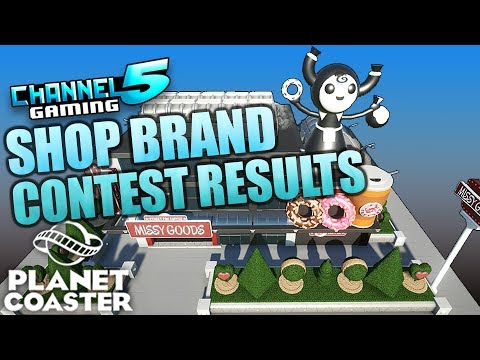 SHOP BRANDING CONTEST! Final Results! Prizes & Promotions! #PlanetCoaster