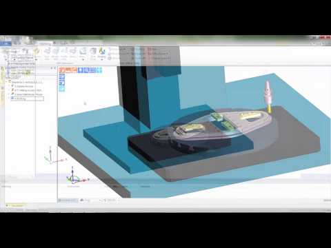 Rotary Axial Milling - Edgecam 2015 R1 CAD-CAM