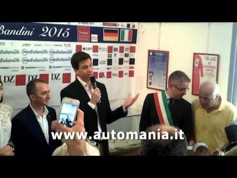 Trofeo Lorenzo Bandini 2015 premiato Toto Wolff