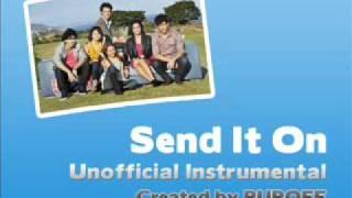 Disney's Friends For Change - Send It On Karaoke / Instrumental without backing vocals