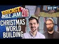 CHRISTMAS WORLD BUILDING w/ LEWIS, SJIN, TOM & HARRY! - YOGSCAST JINGLE JAM! - 2nd December 2018