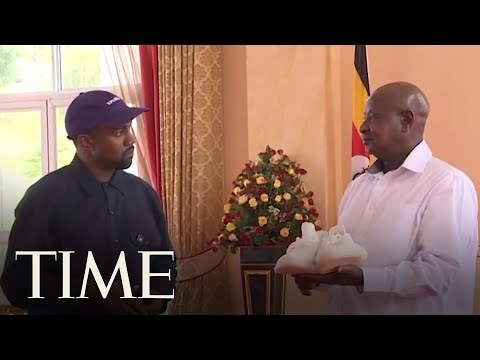 Kanye West And Kim Kardashian West Meet With The President Of Uganda | TIME