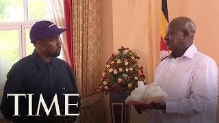 Kanye West And Kim Kardashian West Meet With The President Of Uganda   TIME