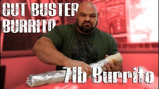 4X WORLDS STRONGEST MAN VS GUT BUSTER BURRITO | BRIAN SHAW