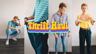 THRIFT SHOP LIKE A PRO! (TRY-ON HAUL) 2018