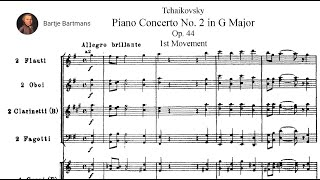 Tchaikovsky - Piano Concerto No. 2, Op. 44 (1879-1880)