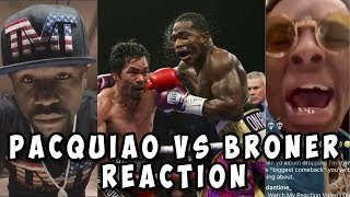 Celebs & Fans Reaction to Manny Pacquiao vs Adrien Broner