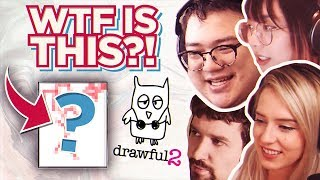 WTF IS THAT? - drawful 2 w/ Lilypichu, Destiny, Natsumiii, Luxbunny & more [Part #1]
