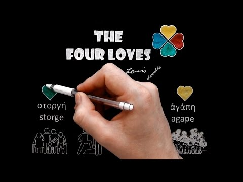 The Four Loves ('Storge' or 'Affection') by C.S. Lewis Doodle