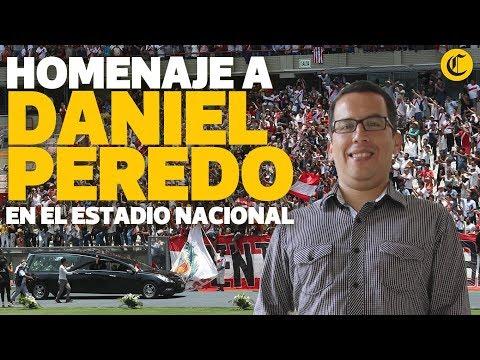 A un año de su perdida: Homenaje a Daniel Peredo en el Estadio Nacional