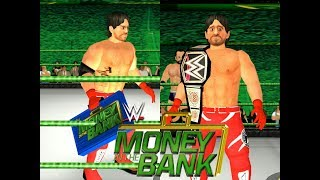 AJ STYLES CASHES MITB AND WINS THE WWE CHAMPIONSHIP - WRESTLING REVOLUTION 3D