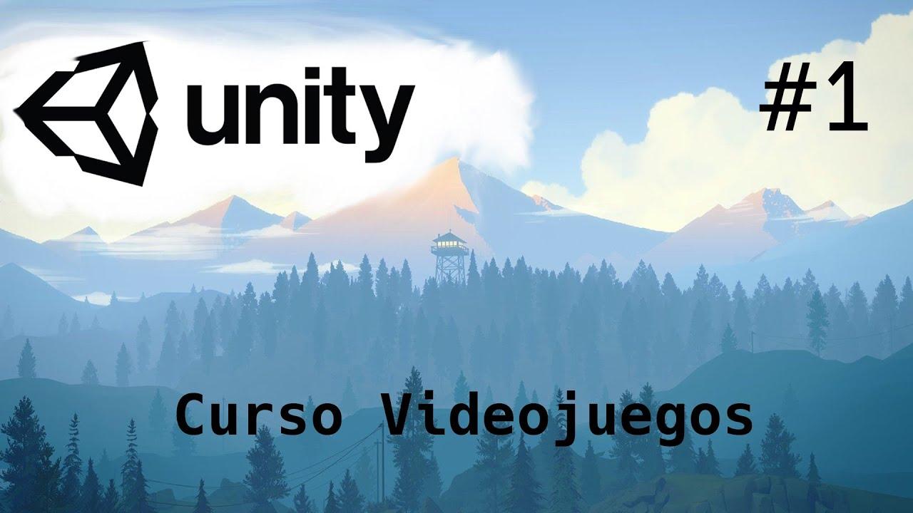 UNITY Tutorial 2021/Introducción Fácil y Sencillo/ 1-Capitulo/Programación Videojuegos