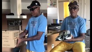 Kanye And Kim Mail Dennis Rodman The New Yeezy Sneakers