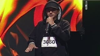 Este imitador busca ser el mejor Eminem de Yo Soy