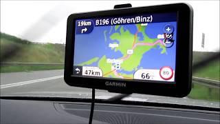 Отпуск в Германии. Дорога от Берлина до острова Рюген.  Едем на машине.