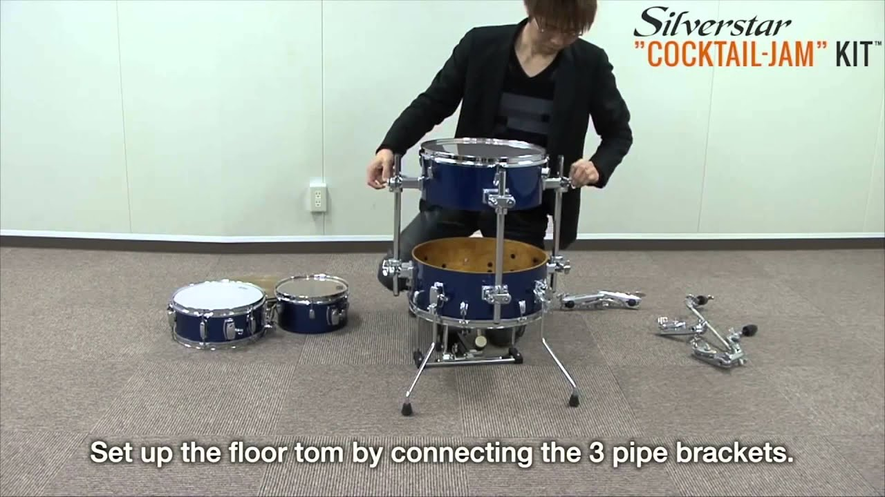 tama how to assemble cocktail jam silverstar drum kit overview full compass youtube. Black Bedroom Furniture Sets. Home Design Ideas
