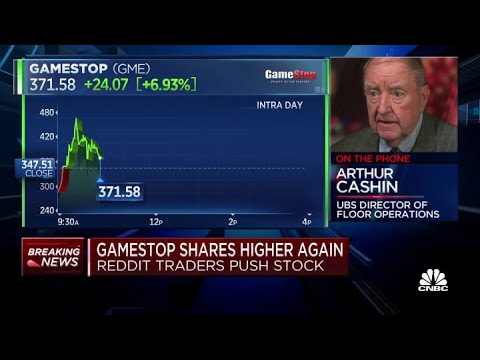 Veteran trader Art Cashin: WallStreetBets may have some big professionals in hiding