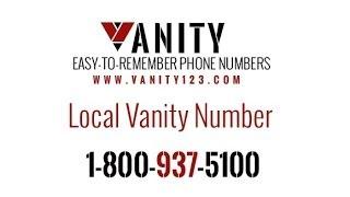 Local Vanity Number