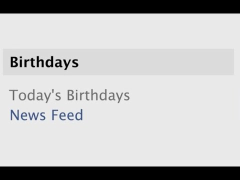 Happy 10th Birthday, News Feed