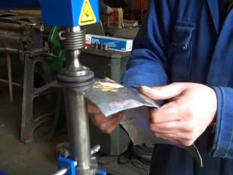 Pneumatic Planishing Hammer Youtube