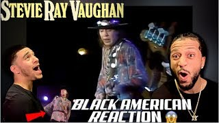 BLACK AMERICAN FIRST TIME HEARING STEVIE RAY VAUGHAN - TEXAS FLOOD | (THIS CAN'T BE REAL!!!!!)