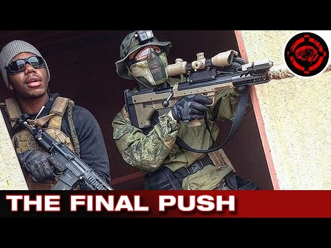 OP Devil Dog Pt 3 Milsim Gameplay: Silverback SRS Sniper