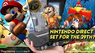 LEAKED Nintendo Direct November 29, 2018! SMASH ULTIMATE DEMO, N64 CLASSIC AND MORE REVEALED?! SUBS?