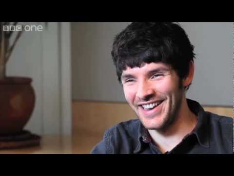 with Colin Morgan  Merlin  BBC One
