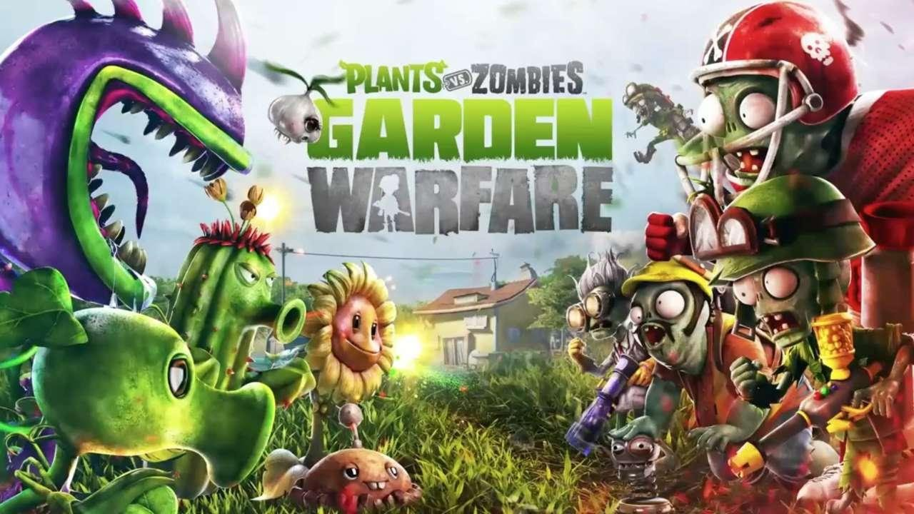 Plants vs. Zombies Garden Warfare - Gameplay Trailer (PS4/PS3 .