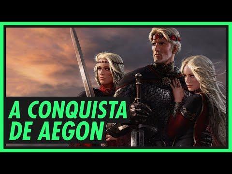 Família TARGARYEN (1/4): A Conquista de Aegon | GAME OF THRONES