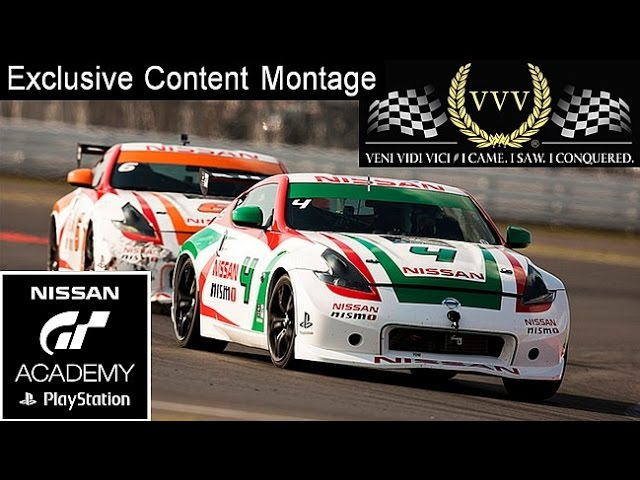 GT Academy 2014 Exclusive Coverage Montage