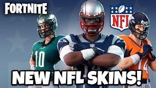 🔴 NOVAS SKINS DA NFL NO FORTNITE BATTLE ROYALE!! (Jogabilidade de Fortnite) #FaZeTWiiNS