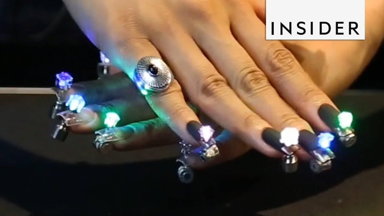 Pierced Led Nails