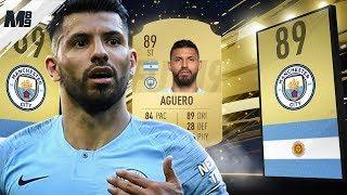 FIFA 19 AGUERO REVIEW | 89 AGUERO PLAYER REVIEW | FIFA 19 ULTIMATE TEAM