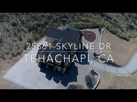 25861 Skyline Dr, Tehachapi California Aerial/Interior Epic Video