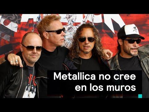 Metallica no cree en los muros: Lars Ulrich - Al Aire con Paola
