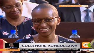 Moving eulogy for Bob Collymore on behalf of the family by Kung