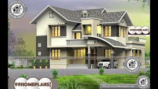 Indian House Design By 99HOMEPLANS COM [ Esp: M019 ]