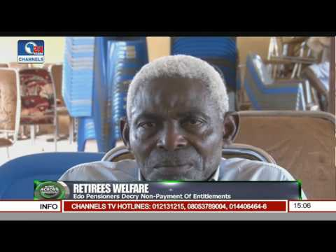 News Across Nigeria: Osun Pensioners Demand For Payment Of Backlog Pt 1