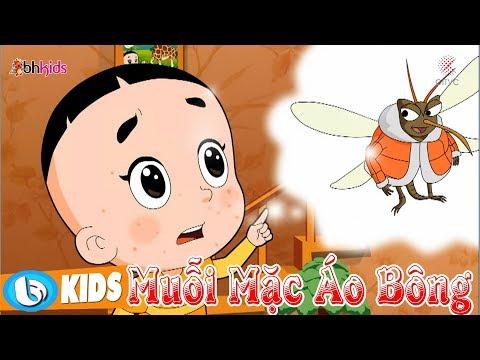 Muỗi Mặc Áo Bông | Hoạt Hình Vui Nhộn Bố Đầu Nhỏ Con Đầu To | Phim Hoạt Hình Hay Nhất 2018