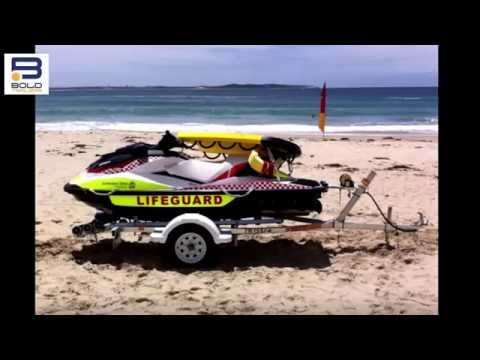 Sutherland Shire Council Lifeguards Reverse Jet Ski Trailer Supply And Modifications