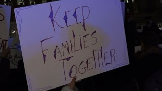 New Yorkers protest immigration raids