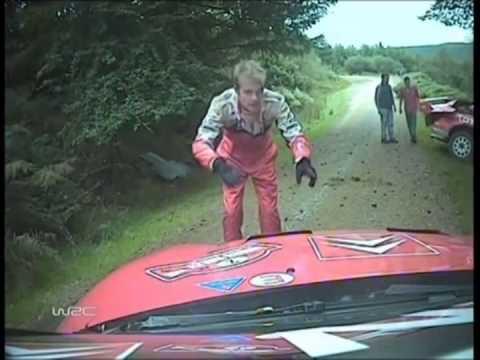 WRC賽車死亡事故