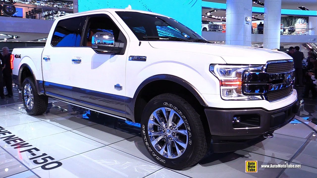 F150 King Ranch >> 2018 Ford F150 King Ranch - Exterior and Interior Walkaround - 2017 Detroit Auto Show - YouTube