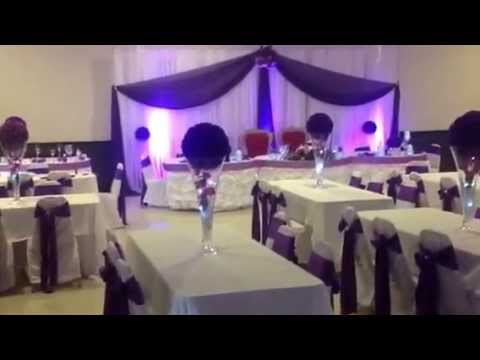 Danny Wedding Decoration Somalian Calgary At Abiydale Community Hall